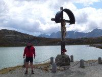 Lago Bianco nahe der Passhöhe des Gaviapasses