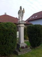 Statue des heiligen Florian in Reisenberg